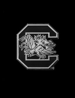 USC Auto Chrome Emblem-0