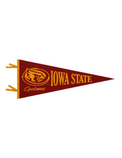 ISU Iowa State Cyclones felt pennant Barefoot Campus Outfitter