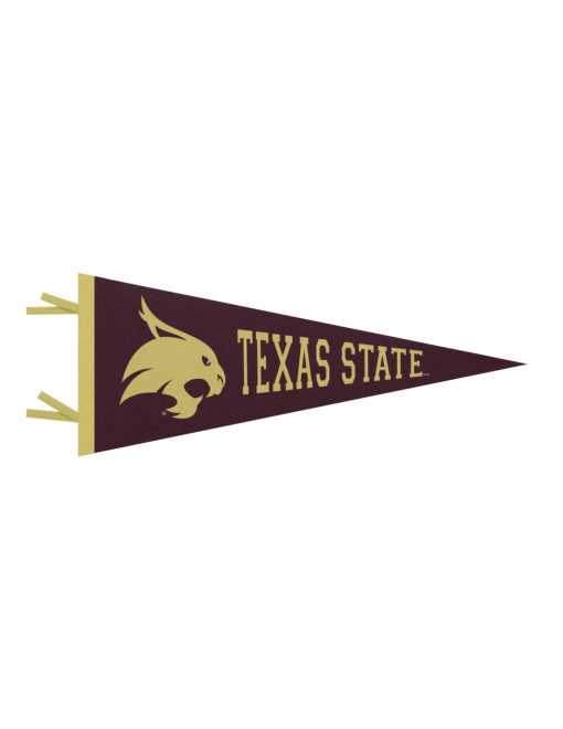 TXST Texas State felt pennant Barefoot Campus Outfitter