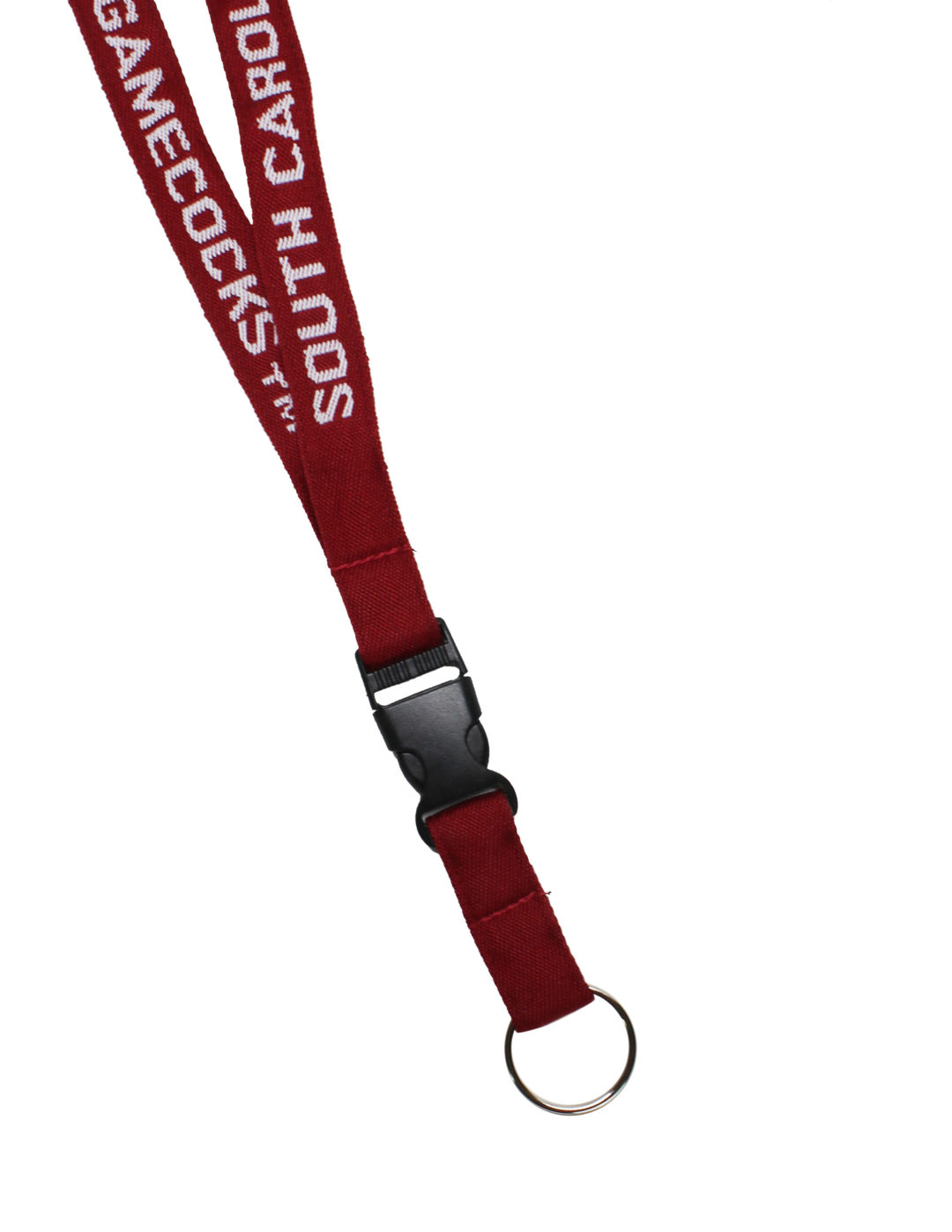 USC South Carolina woven lanyard Barefoot Campus Outfitter