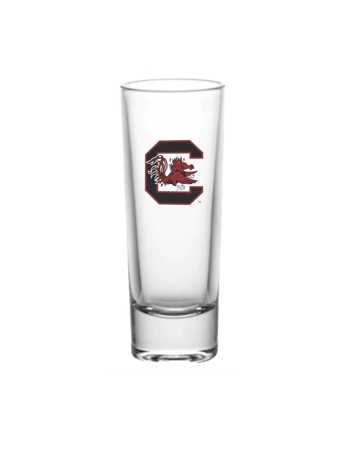 USC South Carolina Gamecocks shooter shot glass Barefoot Campus Outfitter
