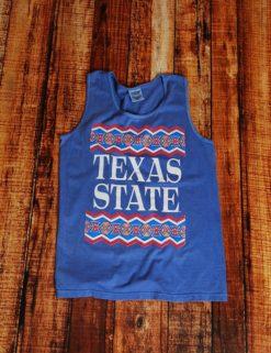 TX State Tribe Tank - FLO BLUE-0