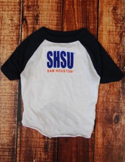 Sam Houston Dog Tee - WHITE/NAVY-0