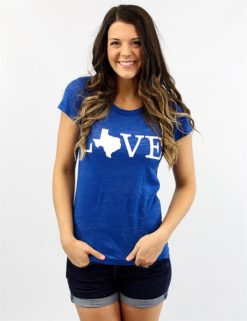 New Texas Love- Blue -0