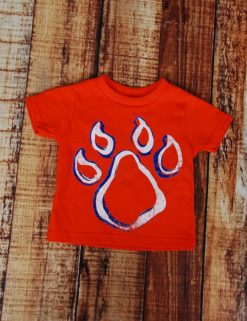 Big BearKat Youth T-Shirt - ORANGE-0
