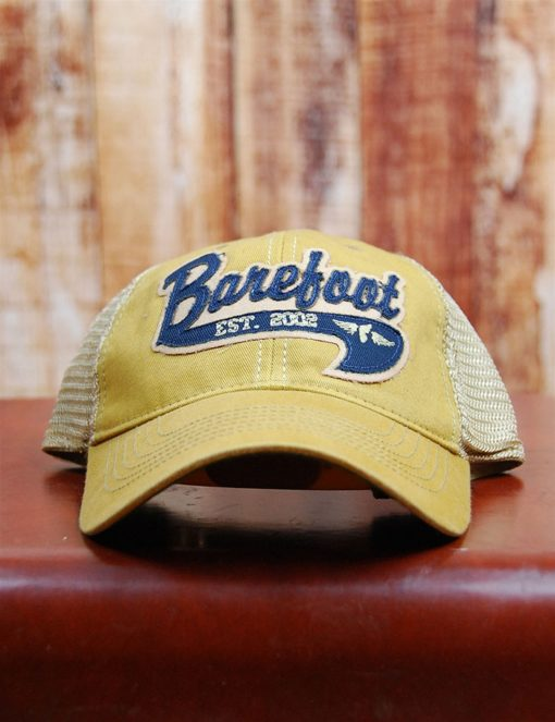 Barefoot Trucker Flyer - NVY/YEL-0