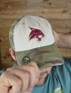 TXST Faded Camo Gordie-0