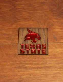 TXST Wooden Magnet-0