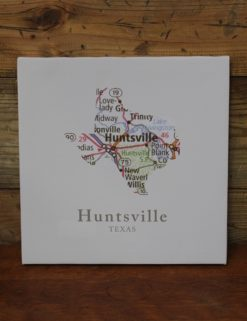 Huntsville TX Map Canvas-0
