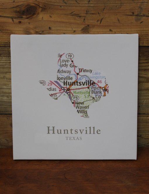 Huntsville TX Map Canvas-0