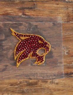 TXST Bling Decal-0