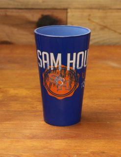 SHSU Glass Tumbler- Blue w/ Ci-0