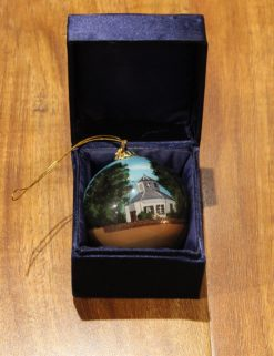 Fred. Hand Painted Ornament-0