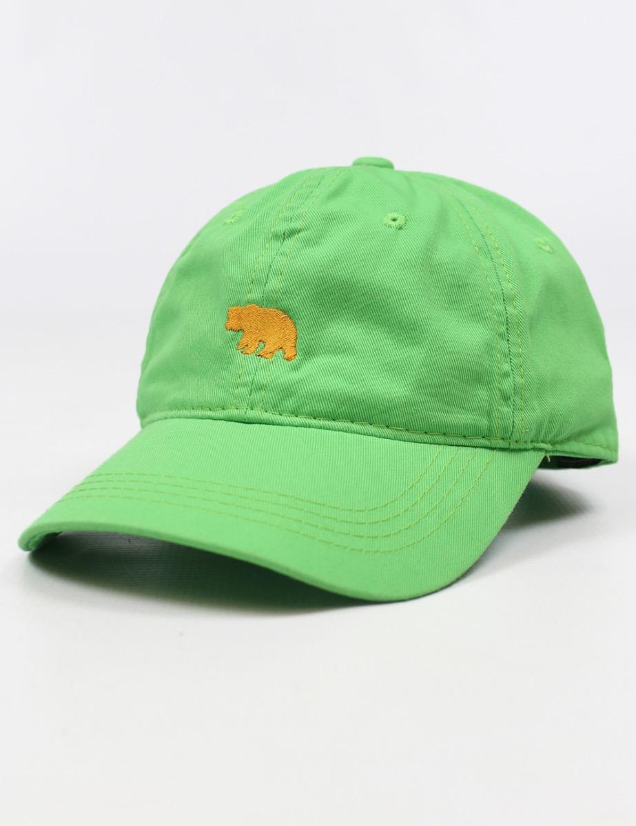 55d44f2814b BU C Baylor Mini Bear Cap- Gol – Barefoot Campus Outfitters