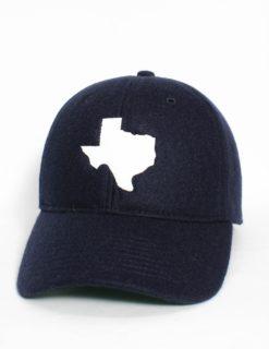 State of Texas White Felt-0