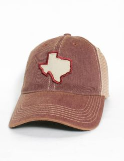 State of TX W/ State Outline-0