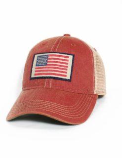 AMERICAN FLAG CARDINAL TRUCKER -0