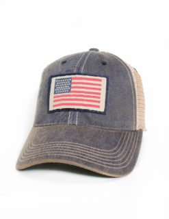 AMERICAN FLAG NAVY TRUCKER-0