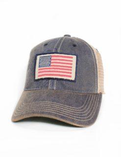 AMERICAN FLAG NAVY TRUCKER-0