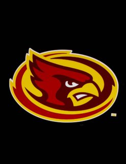 ISU Mascot Head Decal-0