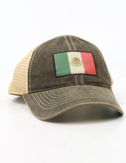 Mexico Flag Hat-0