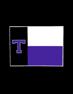 TSU Flag Decal-0