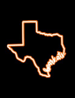 SHSU Bearkats State Script Decal-0