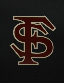 FSU Interlocking FS Logo Decal-0