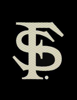 FSU Herringbone Decal-0