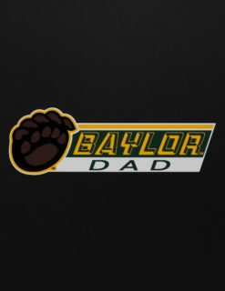 BU Paw Dad Decal-0
