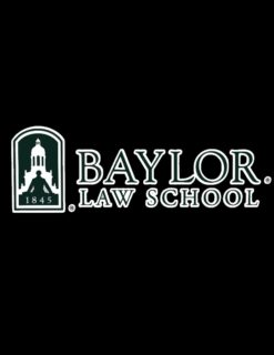 BU Baylor Law Decal-0