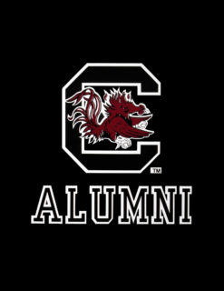 USC Gamecock Logo Over Alumni-0