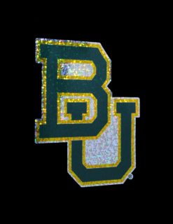 BU Logo Holographic Decal-0