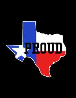 Texas Proud Decal-0