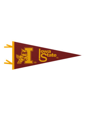 ISU Iowa State felt pennant Barefoot Campus Outfitter
