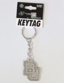 BU Pewter Finish Key Tag-0