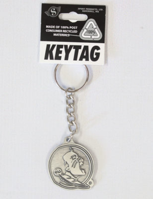 FSU Pewter Finish Key Tag-0