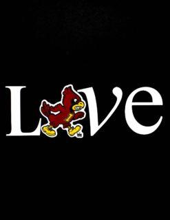 ISU Show Me Love Decal-0