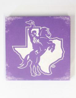 TSU Texan Rider Canvas-0