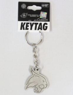 TXST Pewter Finish Key Tag-0