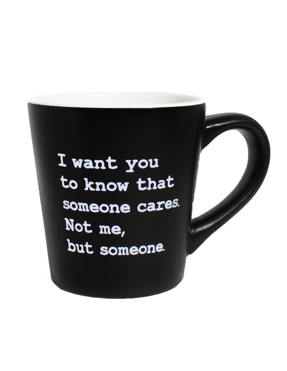 Someone Cares Matte Java Mug-0