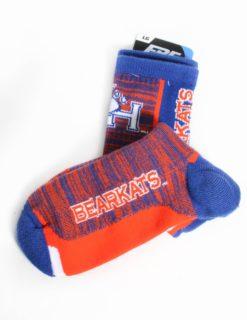 SHSU Bar Stripe Sock-0