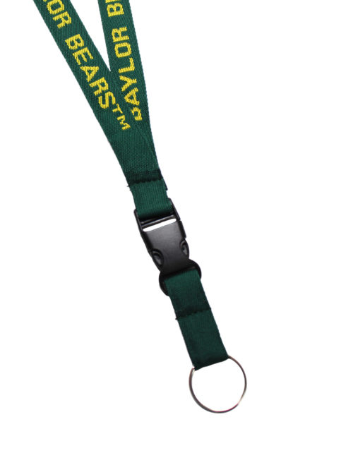 BU Baylor woven lanyard Barefoot Campus Outfitter