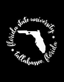 FSU Florida State Round Tally Decal-0
