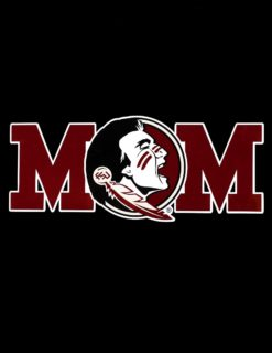 FSU Mascot Mom Decal-0