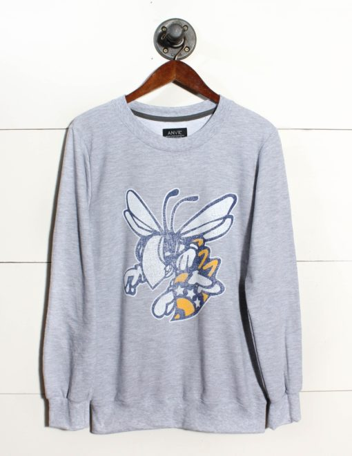Sville Bees Faded Logo-0