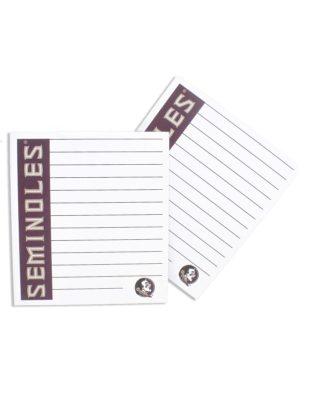 FSU Small Memo Pad-0