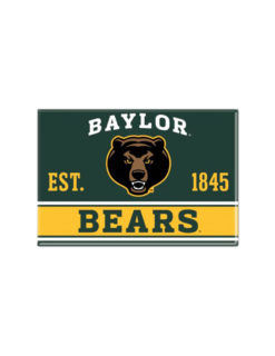 BU Baylor Bears metal magnet Barefoot Campus Outfitter