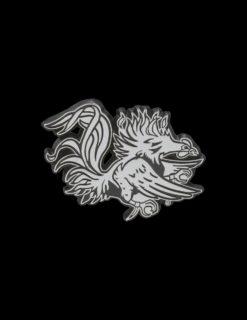 USC Gamecock Metal Emblem-0