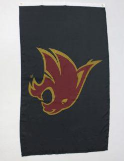 TXST Black Bobcat Flag-0